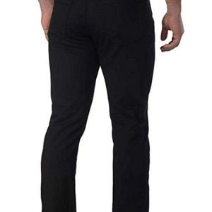 Calvin Klein Pants - CALVIN KLEIN MEN'S SLIM STRAIGHT LEG STRETCH BLACK